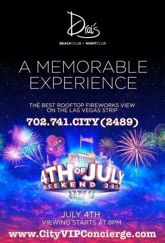 july 4th weekend vegas