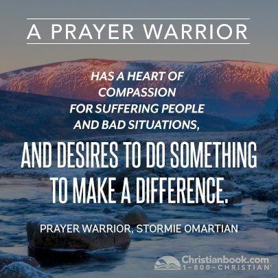 Prayer Warrior by Stormie Omartian