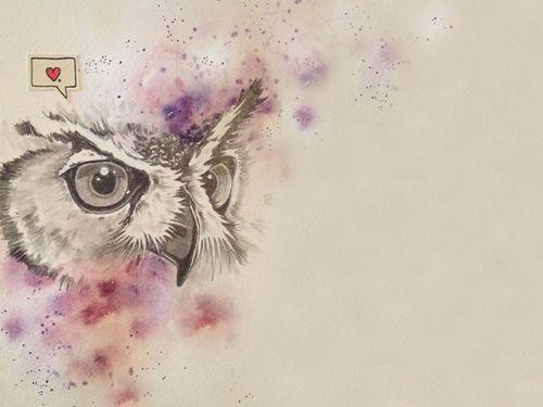 Cute Owl Wallpaper Iphone Freebie Desktop And Iphone Wallpaper