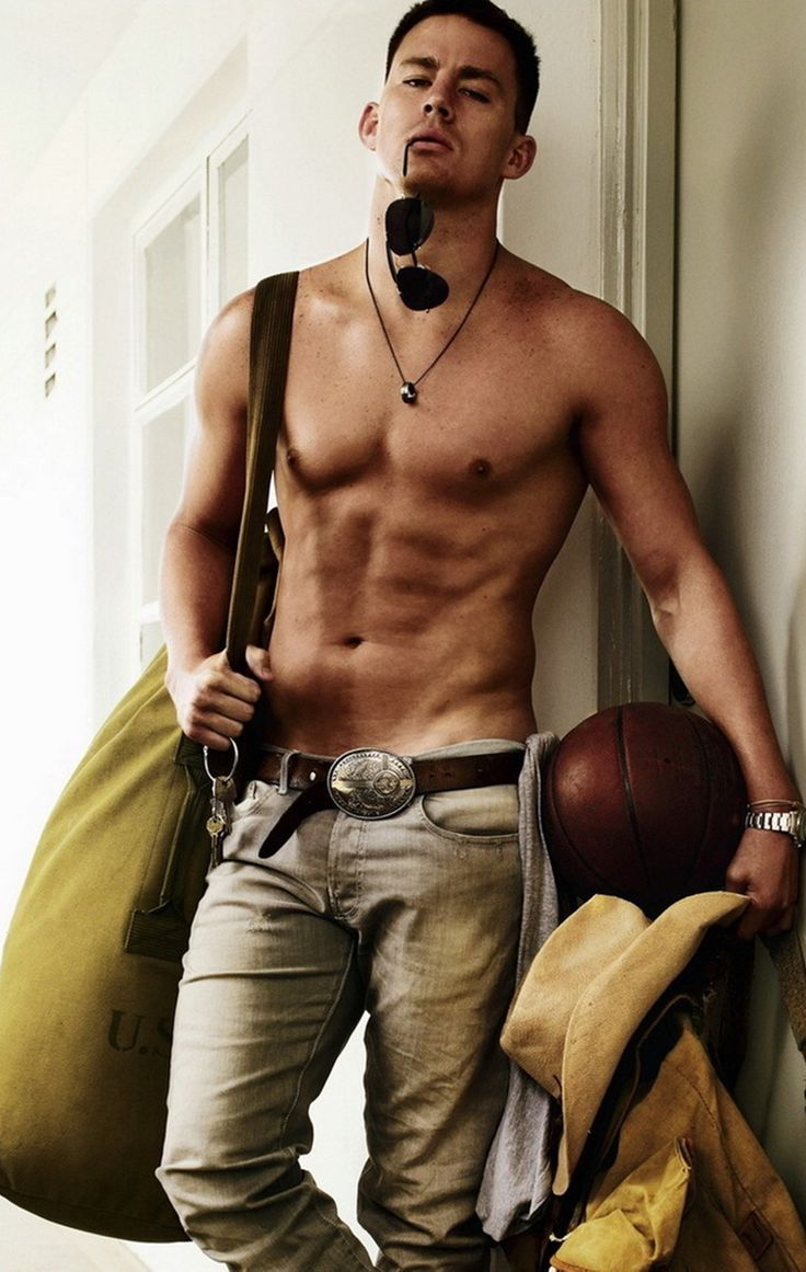 Channing Tatum... He's come such a long way from Step Up and She's The Man