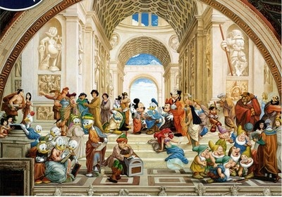 Shipping$10  Price $25.90     School of Athens Disney Jigsaw Puzzle: Disney Jigsaw, Art Puzzles, Disney Art, Disney Puzzles, 1000 Pieces, Art Jigsaw, Puzzles 1000, Jigsaw Puzzles, Pieces Disney