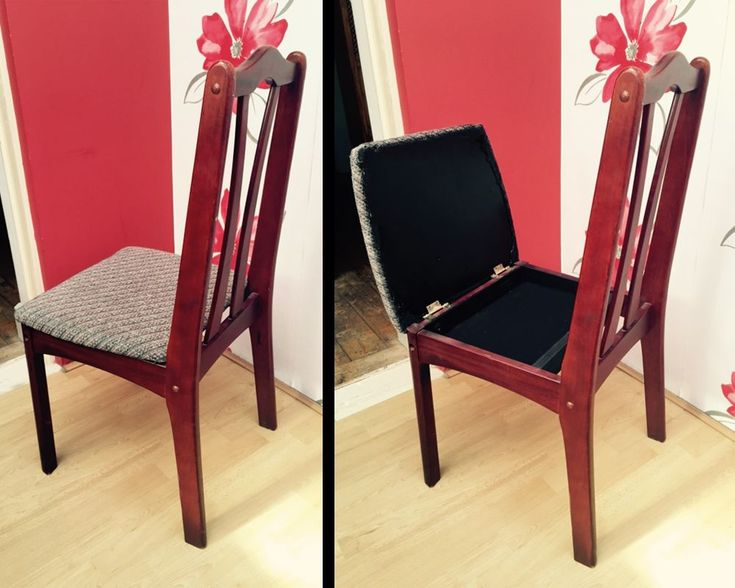 chair do it yourself diy secret hiding spot prepper prepping
