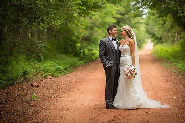 Scenic Wedding in Lakeside, PEI