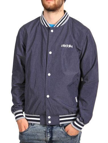 Basemel Jacket [navy mel.] // IRIEDAILY Jackets Men // FALL/WINTER 2014: http://www.iriedaily.de/men-id/men-jackets/ #iriedaily
