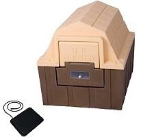 ASL Solutions DP Hunter Insulated Dog House With Floor Heater - Medium