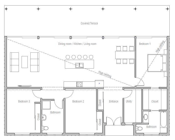 119 best plans maison images on Pinterest Floor plans, Bathrooms