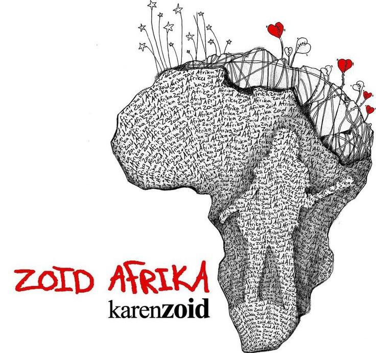 Karen Zoid's latest album cover. Design delicious.