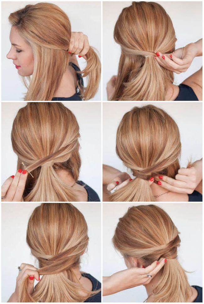 12 cute hairstyle ideas for medium-length hair