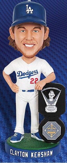 Dodgers Sga Clayton Kershaw 2015 Bobblehead presale · BEASTMODELA · Online Store Powered by Storenvy