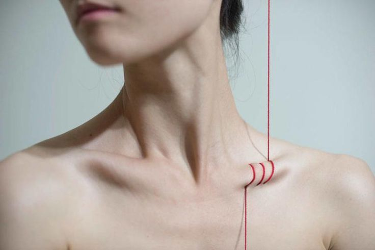 """In her most recent series, talented Taiwanese photographer, Yung Cheng Lin, known more commonly as """"3cm,"""" explores some of the immutable pangs and and unpleasant realities of womanhood, in unsettling yet thought-provoking ways."""