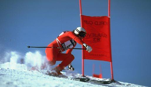 Franz Klammer - Cue 'Ski Sunday' music aaaaand Whoosh! That man could SKI.....