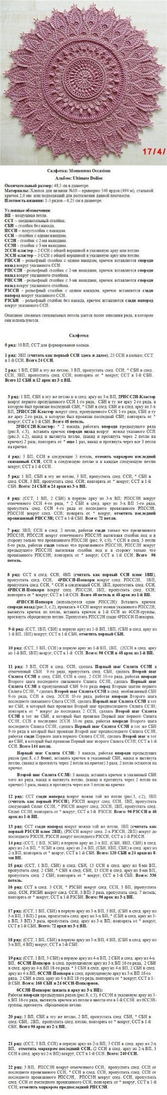 Одноклассники-салфетки Патриции Кристоферсон