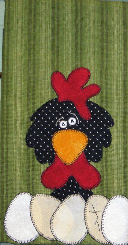 hen and chick quilt patterns | Chicken Patterns