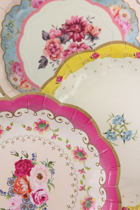 scrumdiddlyumptious PAPER plates