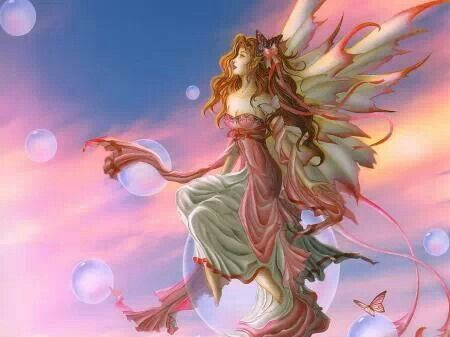 Beautiful fairy by one of my favorite fairy artists***