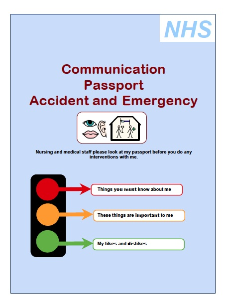 Communication Passport Accident and Emergency  Nursing and medical staff please look at my passport before you do any  interventions with me. PLEASE CLICK ON IMAGE AS VERY INTERESTING DOCUMENT FOR AUTISM