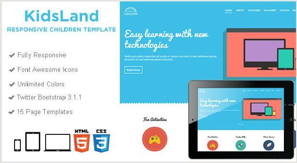 Kids Land - Responsive Children HTML5 Template