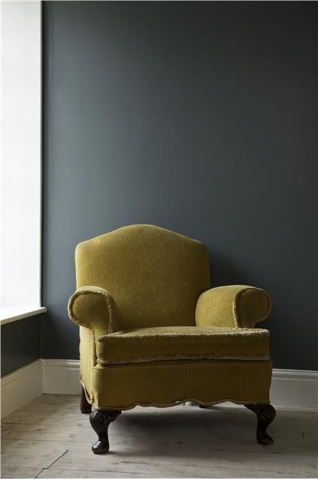 An inspirational image from Farrow and Ball- too similar to Little Green Hick's Blue being used in hall and LG Juniper Ash being used in old playroom?