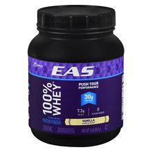EAS 100% Pure Whey Protein Powder Creamy Vanilla at Walgreens. Get free shipping at $35 and view promotions and reviews for EAS 100% Pure Whey Protein Powder Creamy Vanilla
