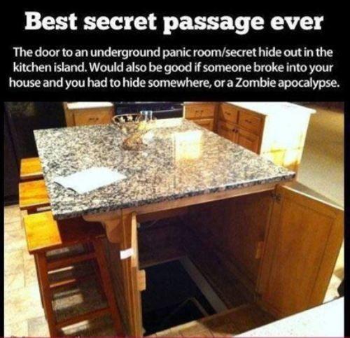 Awesome 8 Foot Kitchen Island: 8 Best Hidden Safes Images On Pinterest