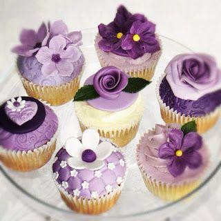 Paarse cupcakes / Zutphen
