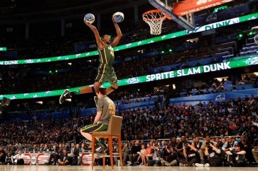 Jeremy Evans (2012 NBA Slam Dunk competition)