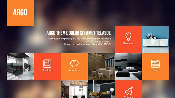 Colorfull web design inspiration Vivid colors modern clean & simple webdesign layout in Photoshop