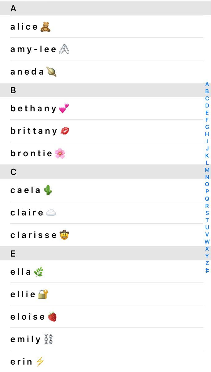 Aesthetic Contact Names Phone Inspiration Aesthetic Phone Case Aesthetic Names
