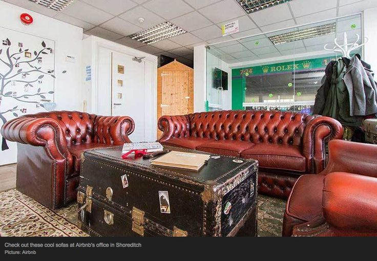 Cool UK offices, via The Telegraph