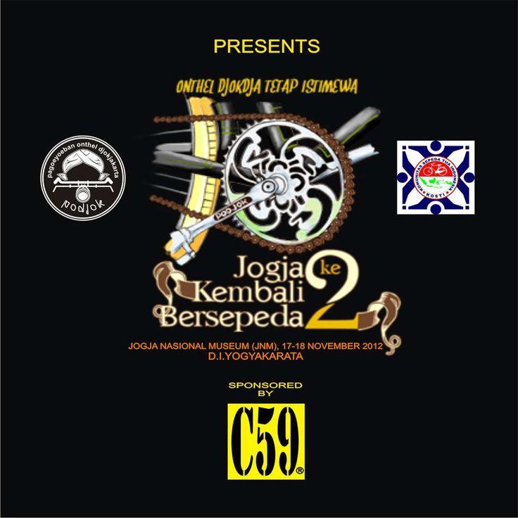 "Dalam Rangka Ulang Tahun pagoeyuban onthel Jokja (PODJOK) yang ke 6 bekerjasama dengan komunitas sepeda tua indonesia ( KOSTI ) dan C59 menggelar acara silahturahmi club Onthel se-indonesia dengan tema ""Jogja Kembali Bersepeda 2"""
