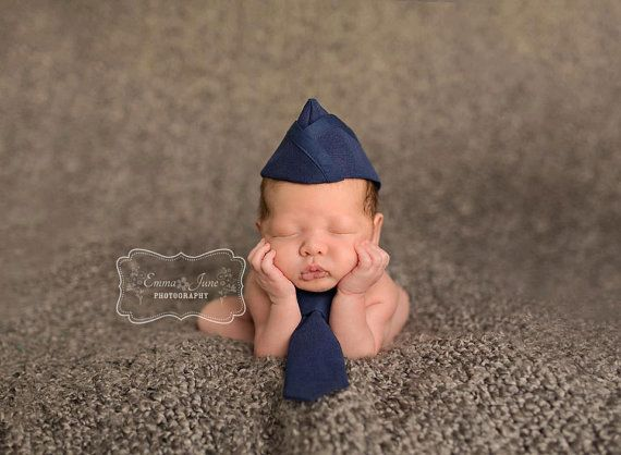Infant Flight Cap with Tie Set, HOW ADORABLE!!! This lady has some amazing items in her Etsy shop. (KaseyCreations)