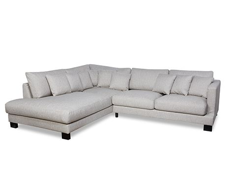 Buy Alexander Left Hand Natural Corner Sofa | David Phillips Landlord Furniture