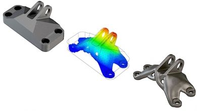 Frustum's topology optimization software and Quickparts DMP CAD/CAM Software | American Machinist