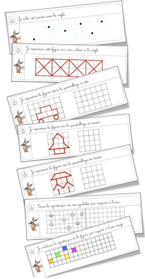 Rituels géométrie cycle 2