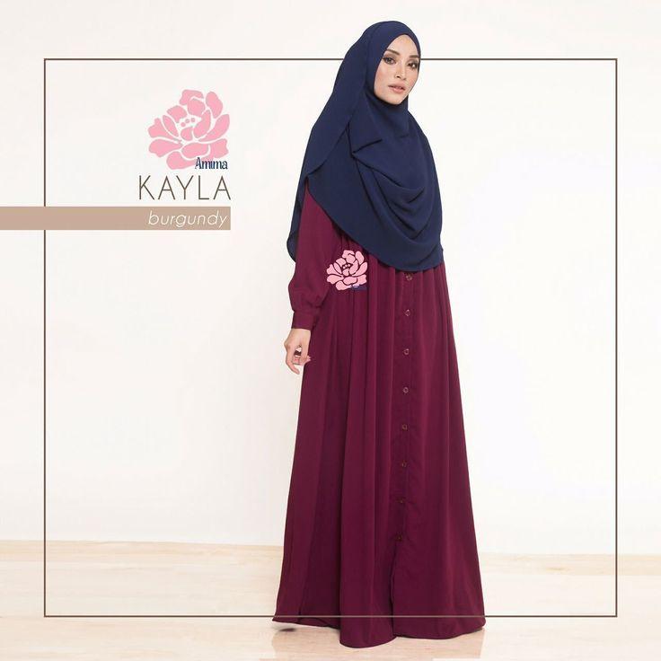 Gamis Amima Kayla Dress Burgundy - baju muslim wanita baju muslimah Untukmu yg cantik syari dan trendy . . Size:  XS ---> LD 92 P 135 S ---> LD 96 P 137 M ---> LD 100 P 139 L ---> LD 104 P 141 XL ----> LD 112 P 144 . . - Material bahan : Crepe  Nyaman digunakan seharian bahannya jatuh dan flow - OFFICE dan BASIC Dress #musthave item dress ini ada bukaan kancing (bisa buka-tutup) jadi bisa multifungsi jadi outer - Dress potongan bawah dada dengan aksen kerut dan bukaan kancing #busuifriendly…
