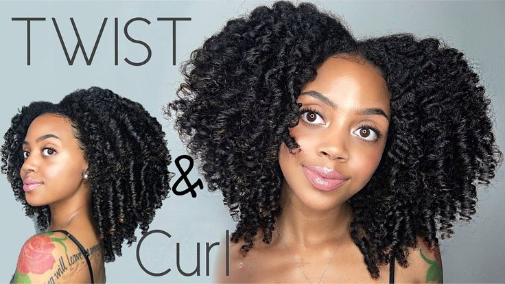 BEST Twist and Curl ONLY 8 TWISTS! [Video] - https://blackhairinformation.com/video-gallery/best-twist-curl-8-twists-video/