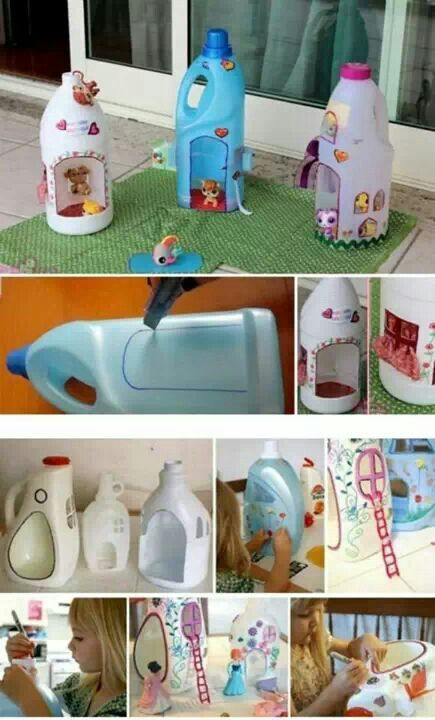 DIY a house for ur little toy...why not? Littlest Pet Shop