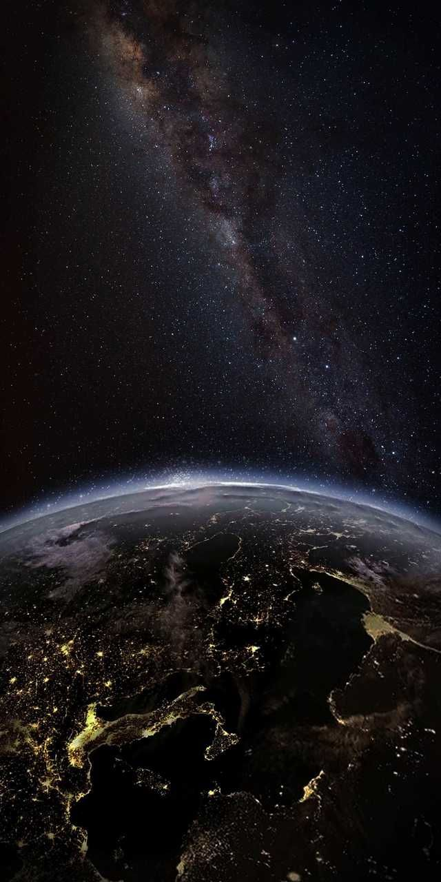 World At Night Credits To Wallpaper Earth Wallpaper Space Background Hd Wallpaper