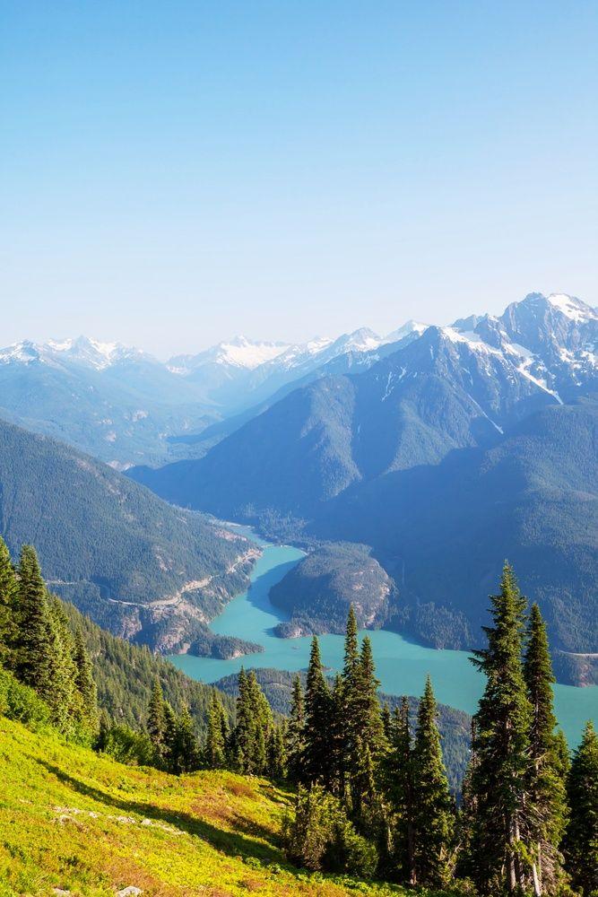 Diablo Lake, Washington Gorgeous view