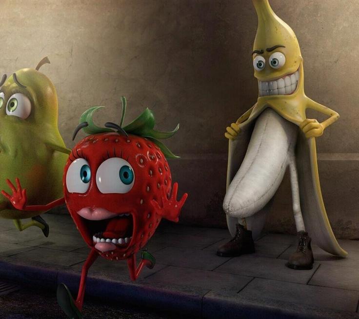 Aaaahhhh! Flasher banana!!! Lol