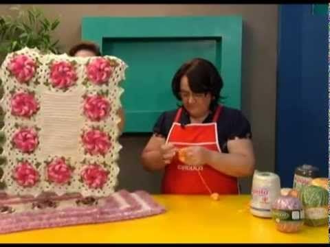 Programa Arte Fácil - 3a Terceira Temporada - Rosa de barbante Bloco 1 -...