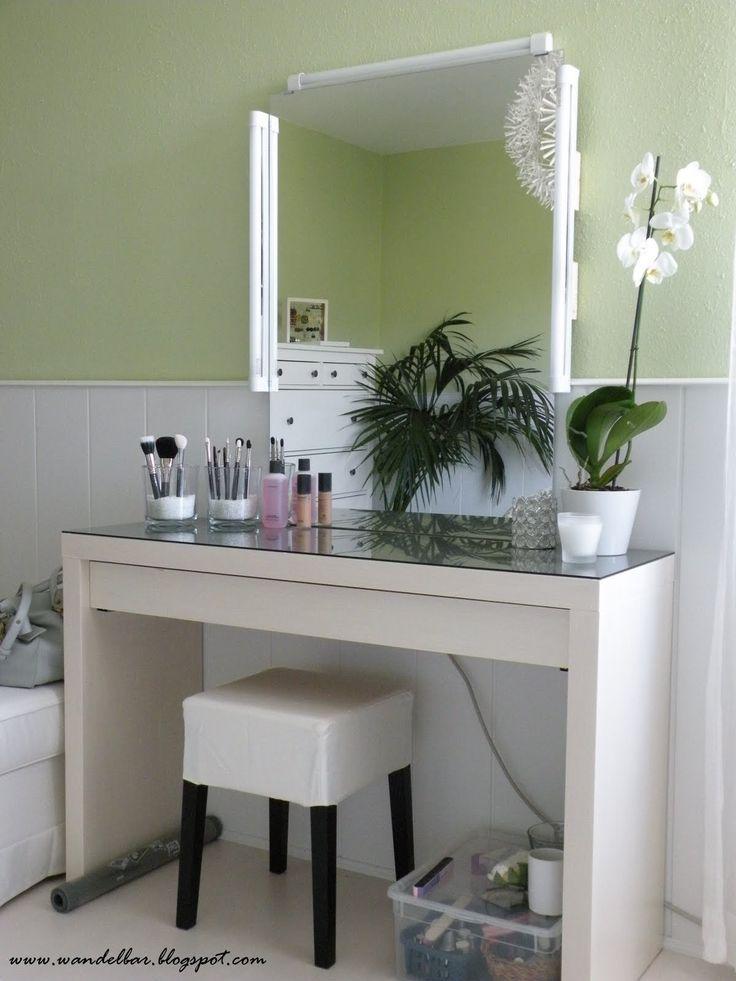 die besten 25 malm schminktisch ideen auf pinterest ikea ankleidetisch ikea schminktisch und. Black Bedroom Furniture Sets. Home Design Ideas