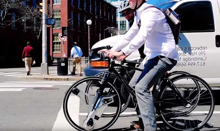 GeoOrbital Wheel - Turn Your Bicycle Into An Electric Bike In 60 Seconds