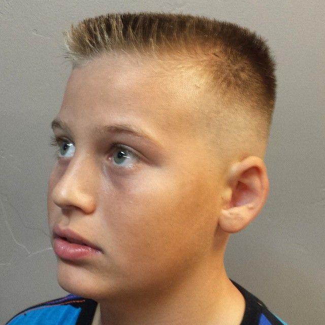 Flat Top Haircut Kids