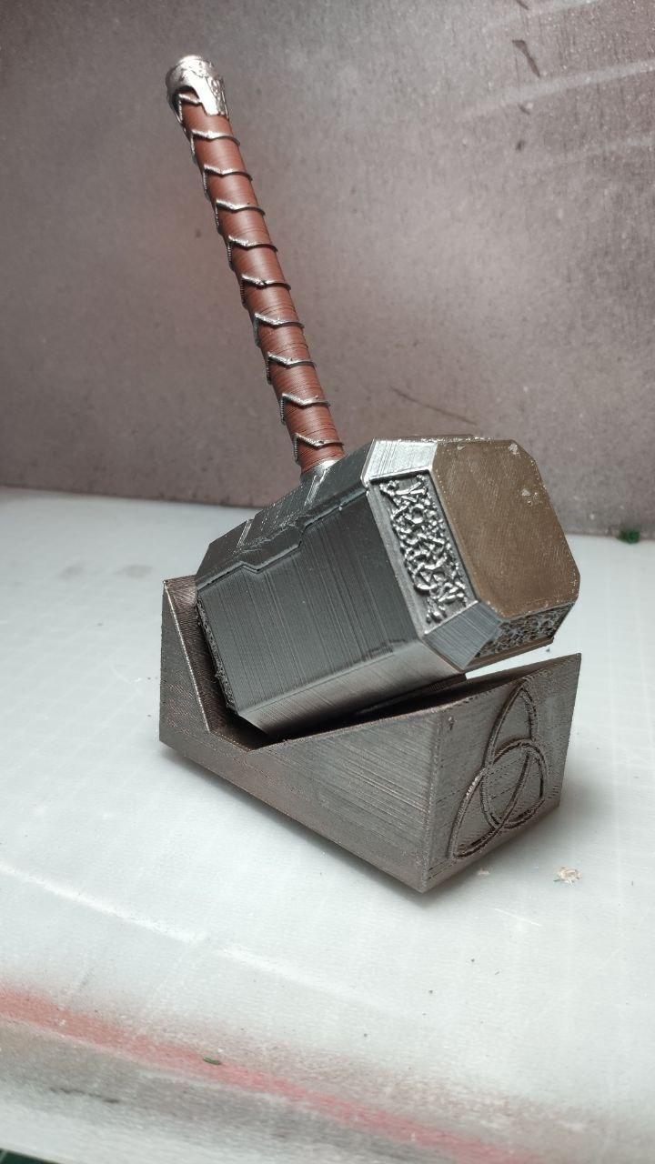 Martillo De Thor Boligrafo Thor Marvel Hammer