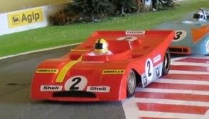 Unlike slot cars, Magracing cars can be steered by radio control to take the racing line through chicanes and corners and can change lanes to overtake. See  www.magracing.co.uk