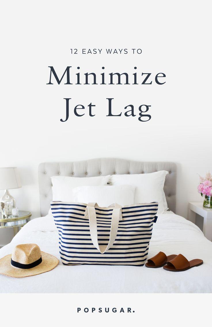 12 Easy Ways To Mimimize Jet Lag