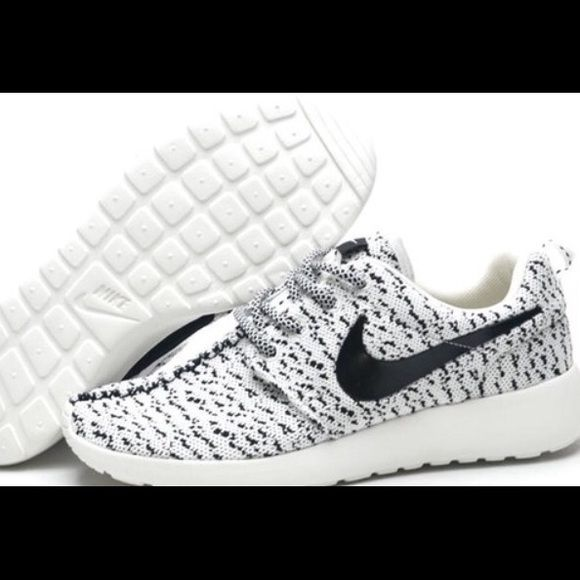 Nike fly knit Yeezy Roshe Will be getting a shipment in soon. Comment size and style you want, and I'll see what I can do!  Prices are always negotiable!!! Nike Shoes Athletic Shoes