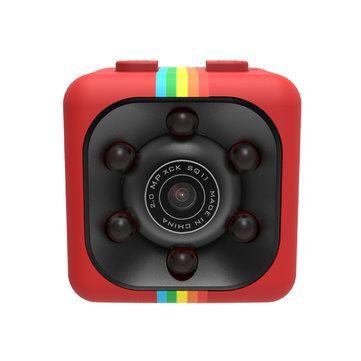 Original Mini Camera SQ11 HD Camcorder HD Night Vision 1080P Sports Mini DV Video Recorder Sale - Banggood.com