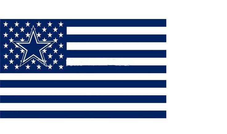Dallas Cowboys USA Flag